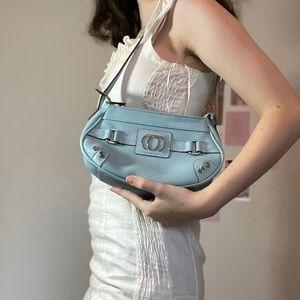 Baby blue Y2K shoulder bag